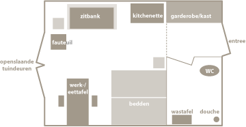 Retraite woodbrookershuis - Studio indeling ...